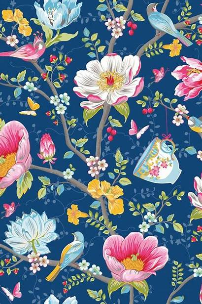 Chinese Garden Flower Pip Dark Studio Backgrounds