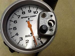 Buy Auto Meter Sport Comp Silver  Tachometer And Shift