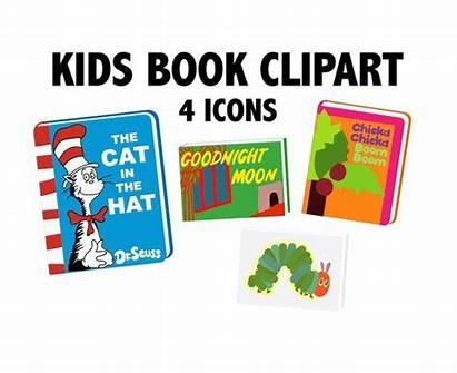 Books Clipart Childrens Clip Shower Classic Birthday