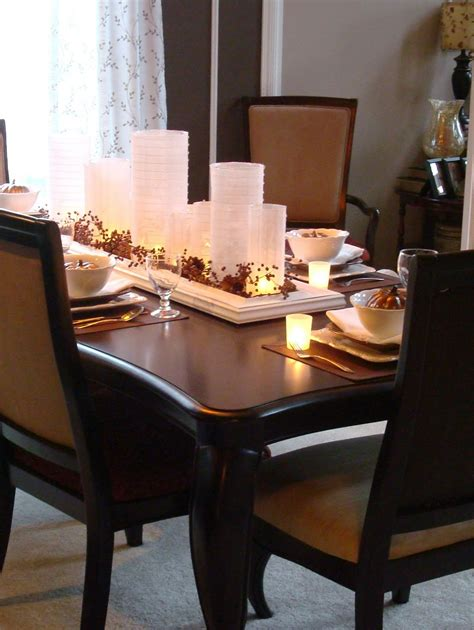 Table Decoration Ideas Dining Room Candle Light Centerpiece Idea For Creating Dining Table And Creative Table Decorations Ideas How To Make Floral Centerpieces Purple Flower Wedding Cen by Beautiful Centerpieces For Dining Room Tables Homesfeed