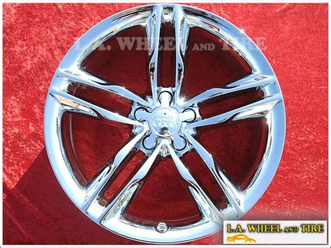 la wheel chrome oem wheel experts audi   oem
