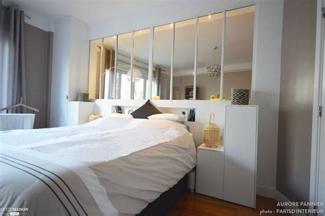 chambre avec coin salon création d 39 une verrière chambre salon aurore pannier