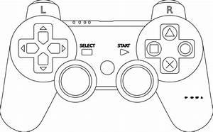 jeux video coloriages autres With controller photo