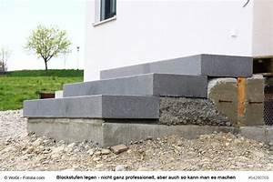 Blockstufen Beton Setzen : au entreppen und gartentreppen selber bauen diytueftler und ~ Orissabook.com Haus und Dekorationen