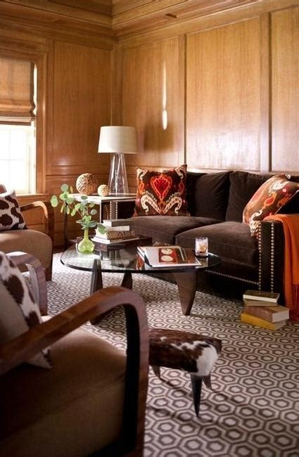 black  brown colors modern interior design trends