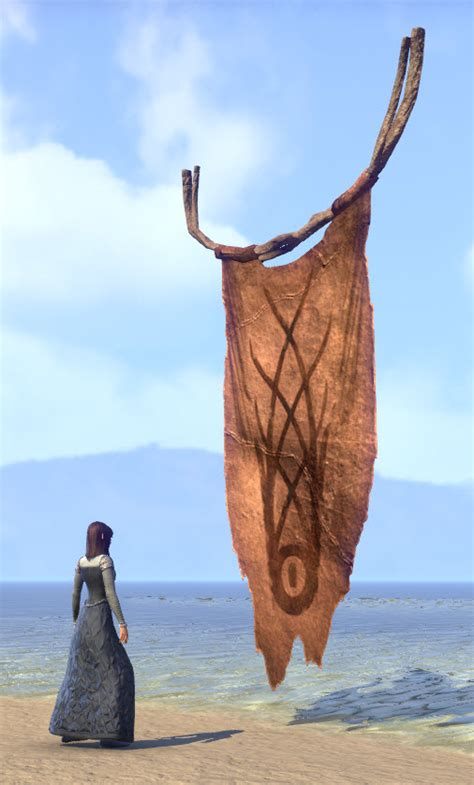 eso fashion wood elf tapestry painted