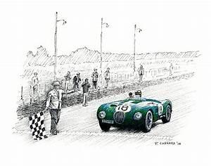 1000 images about le mans art on pinterest autos bmw With 1953 jaguar c type