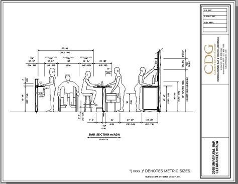 Bar Design Dimensions by What Are The Standard Bar Design Dimensions Cabaret