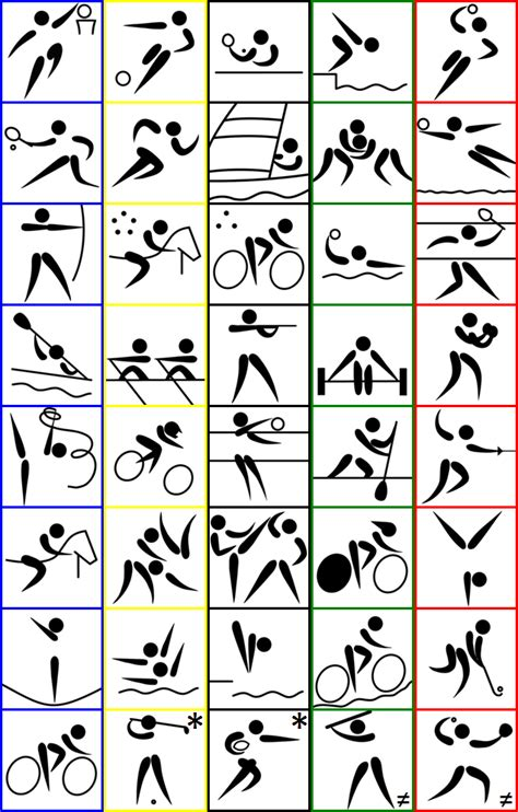 summer sports  stick figure quiz  thejman