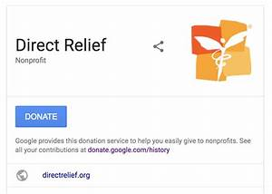 How To Add The New Donate Button To Google Search Results