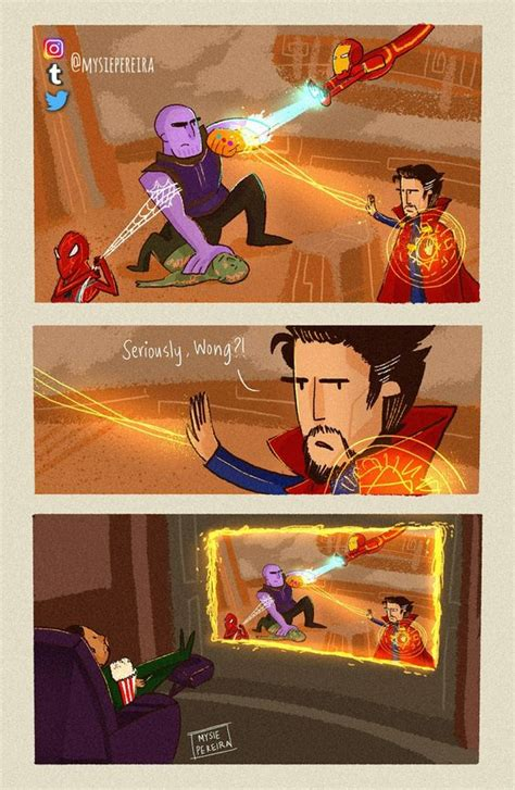 incredibly funny marvel memes depicting