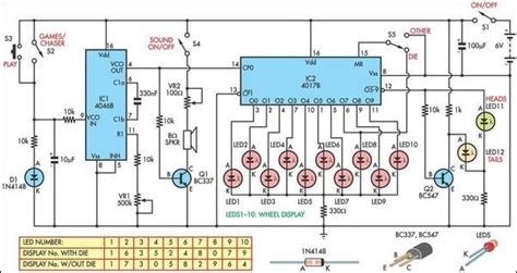 christmas light chaser circuit led chaser circuit diagram electrical concepts