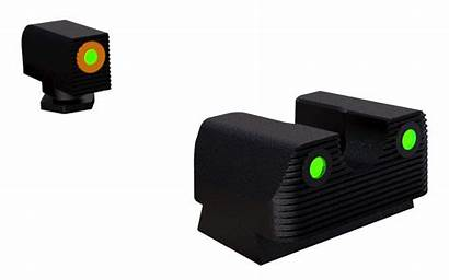Tritium Sights Rival Glock Night Arms Outline