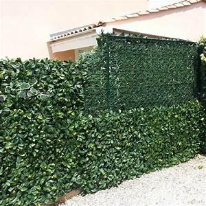 Haie Naturelle Brise Vue : brise vue haie artificielle pas cher brise vue terrasse ~ Premium-room.com Idées de Décoration