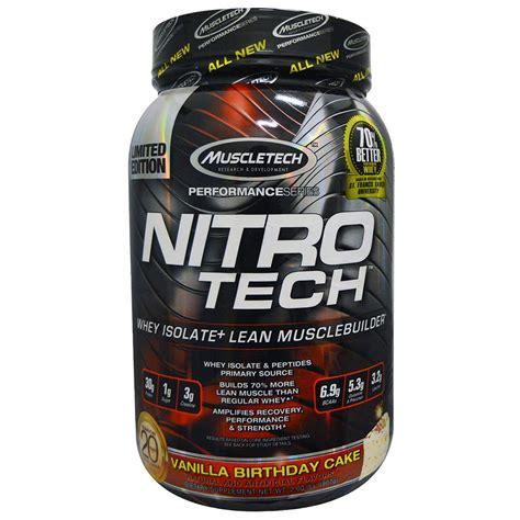 Amazon.com: MuscleTech NitroTech Protein Powder Plus