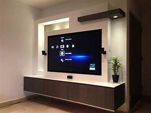 Designer Tv Board : tv in wall proyecto pinterest tvs walls and tv units ~ Indierocktalk.com Haus und Dekorationen