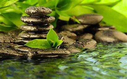 Zen Religion Buddhism Water Wallpapersafari Buddha Bokeh