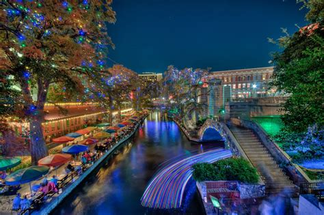 lighting san antonio tx riverwalk san antonio texas christmas lights light up