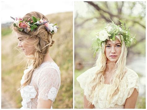 Flower Crown Wedding Passion For Flowers