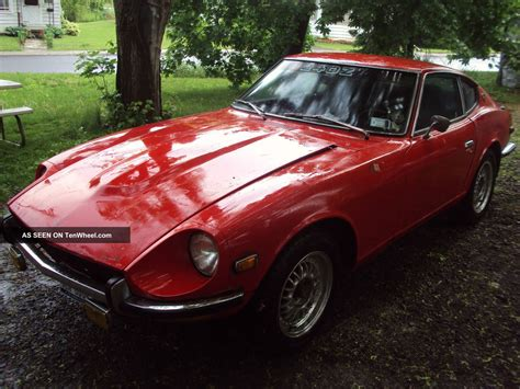 1972 Datsun 240z Needs Restoration