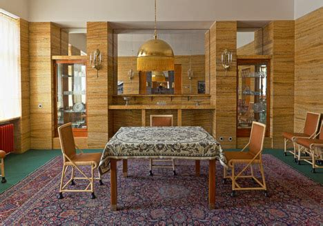 Adolf Loos Interior by Restored Adolf Loos Designed Interiors Open To The