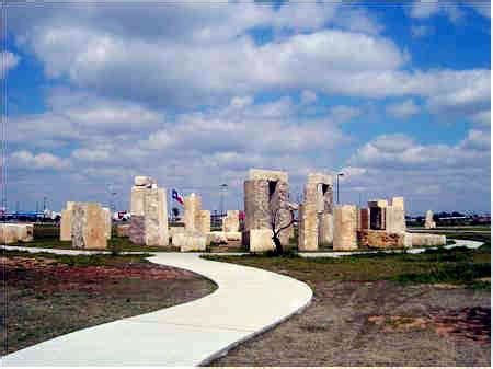 Stonehenge Replica on the UTPB campus - Odessa, Texas
