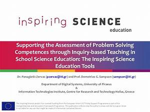 Supporting the Assessment of Problem Solving Competences ...