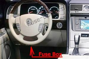Fuse Box Diagram  U0026gt  Lincoln Aviator  Un152  2003