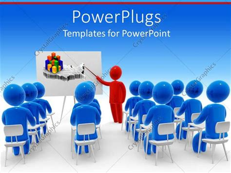 powerpoint template  depiction   classroom