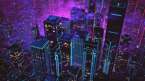 Neon Anime Wallpaper - 80s style retrowave neon artwork hd wallpaper wallpaper