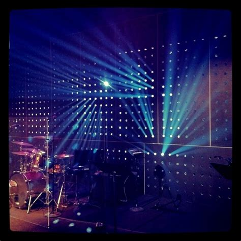 stage lighting design beaming church stage design ideas
