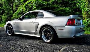 Satin Silver 2002 Ford Mustang GT Coupe - MustangAttitude.com Photo Detail