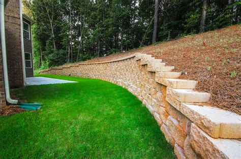 erosion landscaping retainer walls for erosion control executive landscaping inc