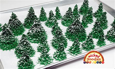 How To Use Cake Decorating Tips by Piped Royal Icing Fir Trees