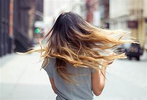 Long Ombre Hair: City Chic with Dark/Light Dip Dye ...