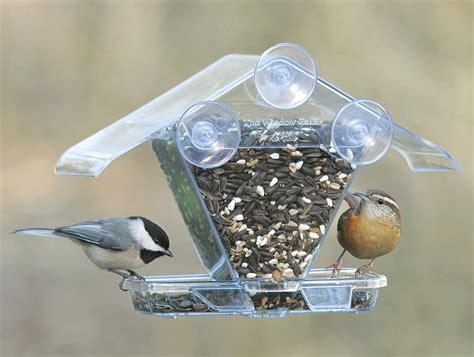 chalet window mount bird feeder buck buck