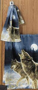 wolf shower curtains curtains blinds With wolf bathroom accessories