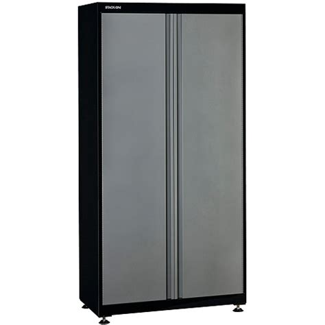Metal Storage Cabinets At Walmart by Stack On 2 Door Floor Storage Cabinet Walmart