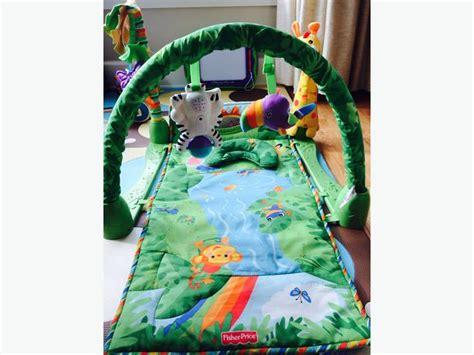 fisher price rainforest play mat fisher price rainforest 1 2 3 musical play mat oak bay