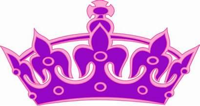 Crown Clip Queen Clipart Tiara Purple Princess