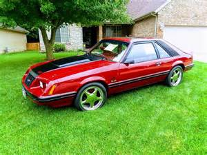 3rd gen Canyon Red 1983 Ford Mustang 5.0 V8 5spd [SOLD] - MustangCarPlace
