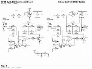 Simple Vcf Schematics From Musicfromouterspace Com  With