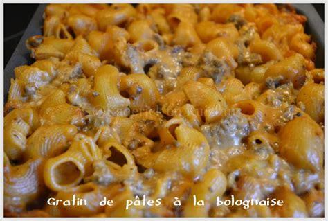 peut on congeler des pates bolognaise gratin de p 226 tes 224 la bolognaise par kaderick