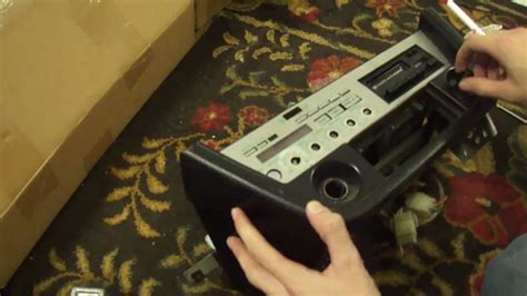 datsun zx stereo removal youtube
