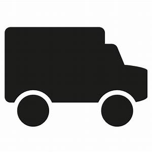 delivery truck icon – Free Icons Download