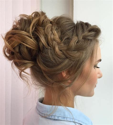 Braided And Curled Hairstyles by 25 Special Occasion Hairstyles Hair Hair Special