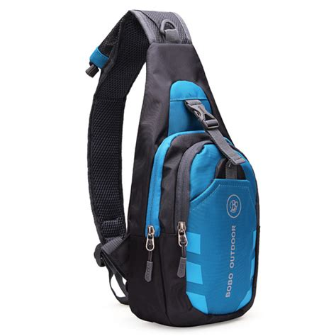 buy men women waterproof sport chest pouch bag shoulder sling bag bazaargadgetscom