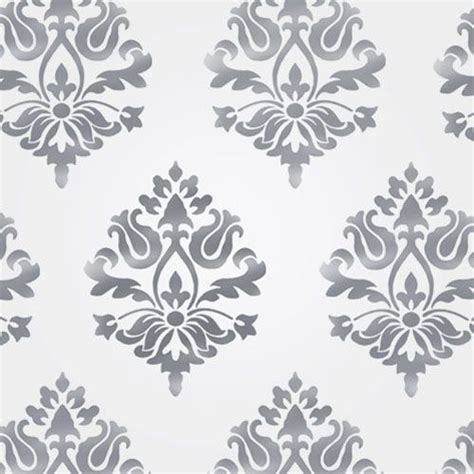 damask wall stencil home decor craft stencil paint