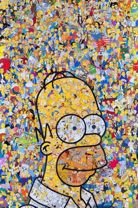 Search free kpop wallpapers on zedge and personalize your phone to suit you. Vivid Pop Culture Collages | The simpsons, Homer simpson, Simpsons art