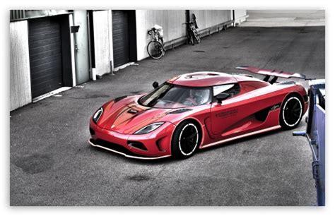 Red Koenigsegg Hdr 4k Hd Desktop Wallpaper For 4k Ultra Hd